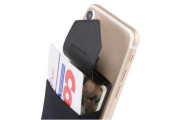 スマホの背面カードポケット